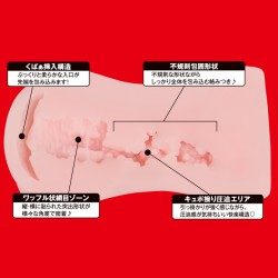 JAPANESE REAL HOLE 安齋拉拉 名器飛機杯