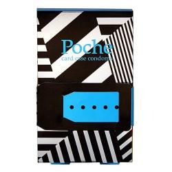 Poche 卡片盒橫蚊安全套-4片裝