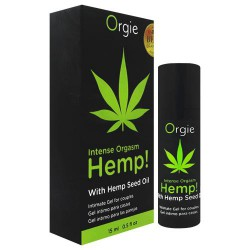 葡萄牙 Orgie INTENSE ORGASM HEMP 刺激跳動凝膠-15ml