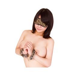SM 眼罩+手扣套裝(豹紋)