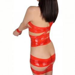 A-ONE 靜電膠布-紅色