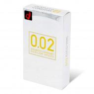 岡本 薄度均一 0.02EX (日本版) 6 片裝 PU 安全套