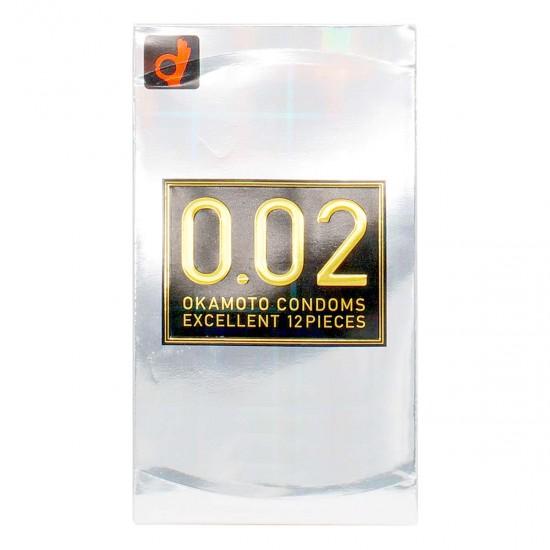 岡本 薄度均一 0.02EX (日本版) 12 片裝 PU 安全套