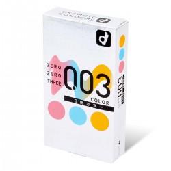 岡本 零零三 0.03 3色系 (日本版) 12 片裝