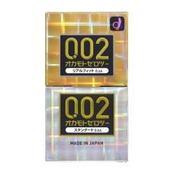 岡本 0.02 EX+完全貼身 2合1套裝-12片裝