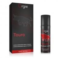葡萄牙Orgie Touro taurine表現增強軟膏-15ml