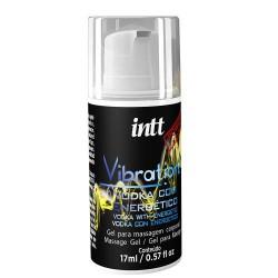 巴西Intt Vibration 液體震蛋Gel 17ml(伏特加 可口交) 增強版