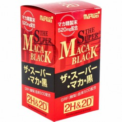 2H2D - 超級黑瑪卡。黑-120粒