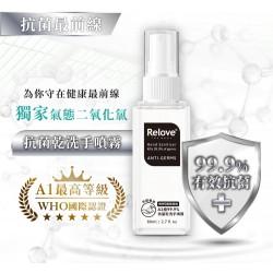 Relove A1級安泰菌 - 乾手洗噴霧 Anti-Germs