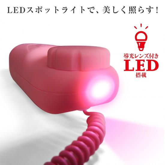 日本SSI LED搭載無段階震動超小型調情跳蛋