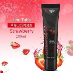 葡萄牙 Orgie Lube Tube 草莓 潤滑油-100ml